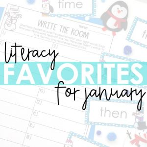 literacy favorites for january