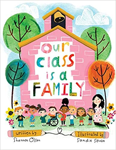 Our Class is a Family book cover