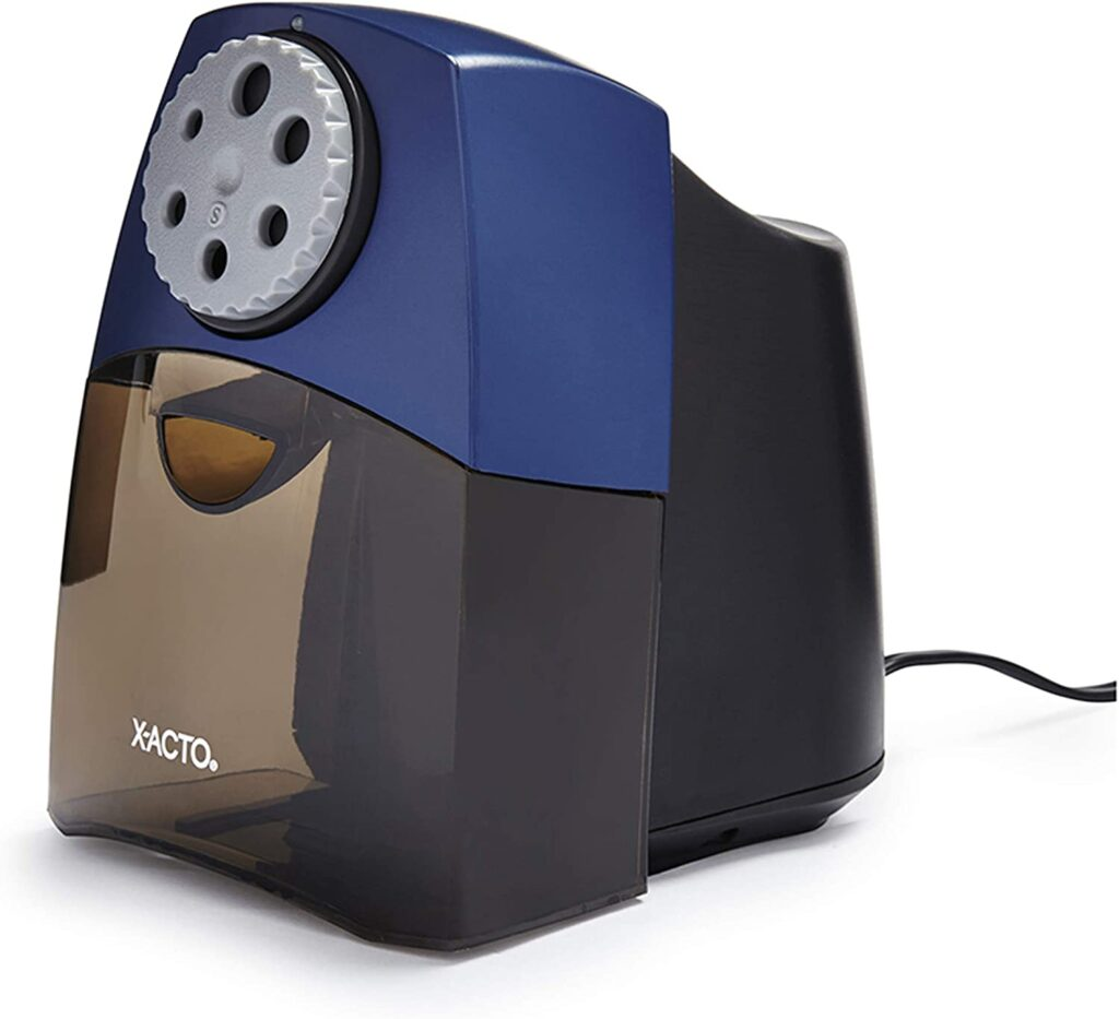 x-acto pencil sharpener 7 Classroom Must-Haves from Amazon