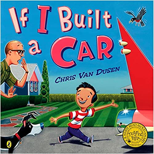 5 Must-Have September Read Alouds image of If I Built a Car