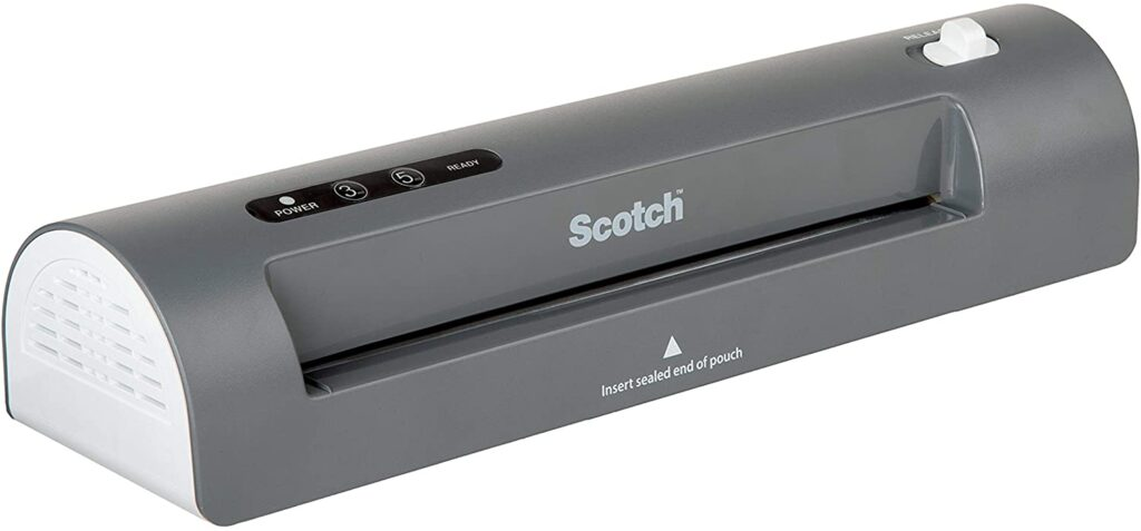 scotch laminator 7 Classroom Must-Haves from Amazon