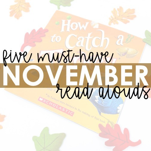 5 Must-Have November Read Alouds